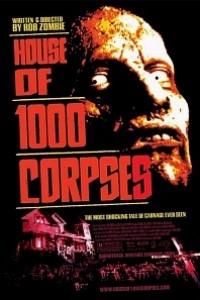 Caratula, cartel, poster o portada de La casa de los 1000 cadáveres