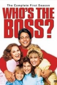 Caratula, cartel, poster o portada de ¿Quién es el jefe?