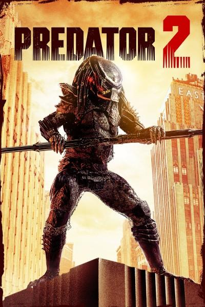 Caratula, cartel, poster o portada de Depredador 2
