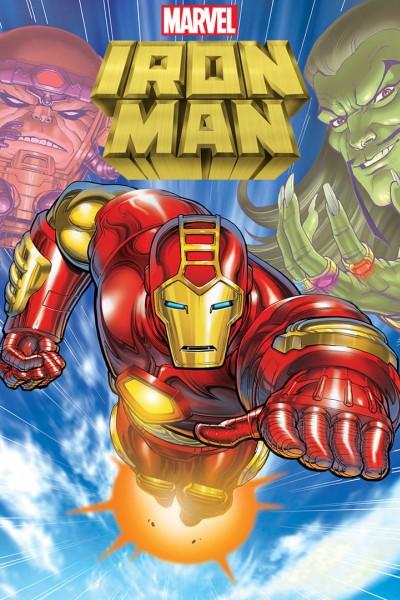 Caratula, cartel, poster o portada de Iron Man (Ironman)