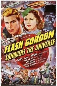 Caratula, cartel, poster o portada de Flash Gordon Conquers the Universe