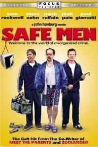 Caratula, cartel, poster o portada de Safe Men (Dos torpes en apuros)