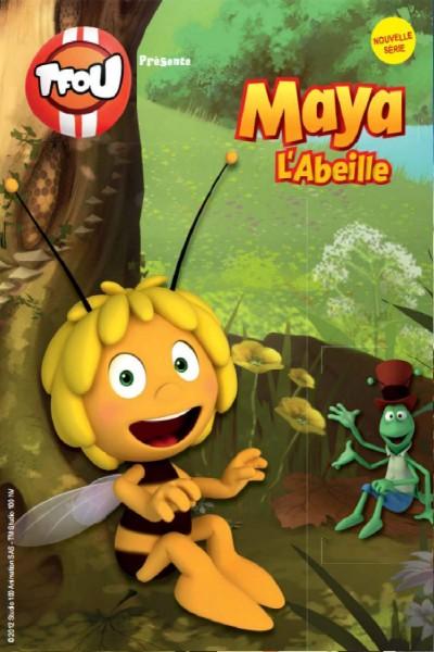 Caratula, cartel, poster o portada de La abeja Maya