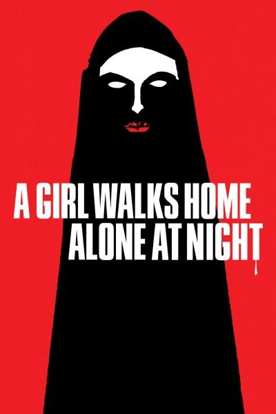 Caratula, cartel, poster o portada de Una chica vuelve a casa sola de noche