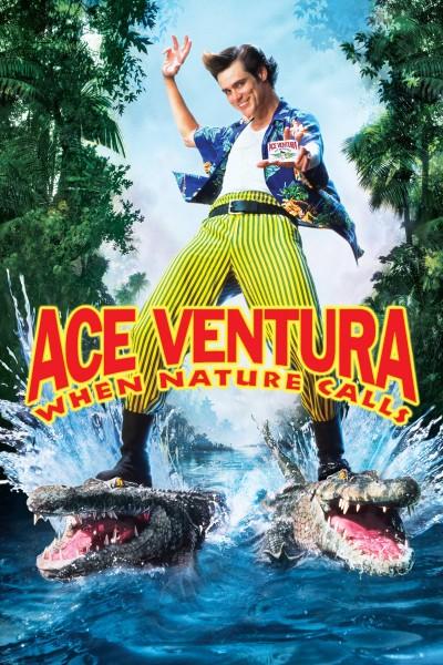 Caratula, cartel, poster o portada de Ace Ventura: Operación África