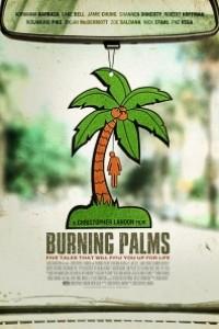 Caratula, cartel, poster o portada de Palmeras ardientes