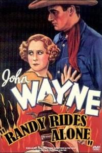 Caratula, cartel, poster o portada de Randy cabalga solo