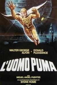 Caratula, cartel, poster o portada de El hombre-puma