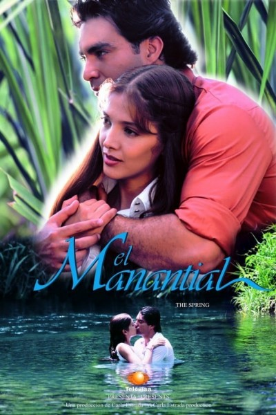 Caratula, cartel, poster o portada de El manantial