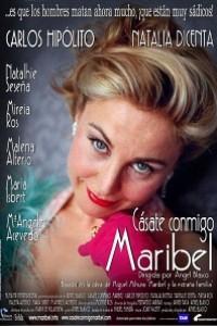 Caratula, cartel, poster o portada de Cásate conmigo, Maribel