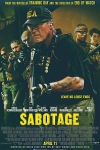 Caratula, cartel, poster o portada de Sabotage