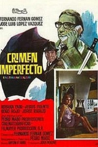 Caratula, cartel, poster o portada de Crimen imperfecto