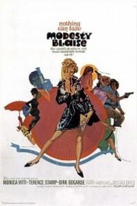 Caratula, cartel, poster o portada de Modesty Blaise, superagente femenino