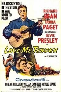 Caratula, cartel, poster o portada de Love Me Tender (Ámame tiernamente)