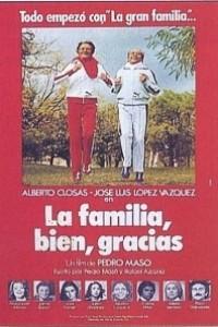 Caratula, cartel, poster o portada de La familia bien, gracias