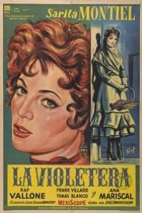Caratula, cartel, poster o portada de La violetera