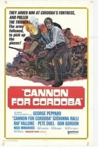 Caratula, cartel, poster o portada de Cañones para Córdoba