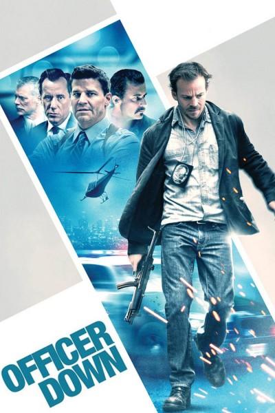 Caratula, cartel, poster o portada de Acorralado (Officer Down)