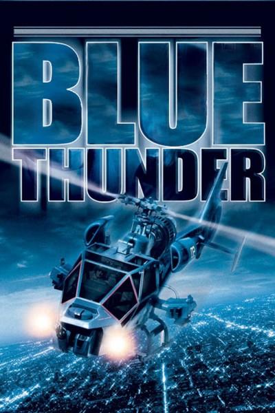 Caratula, cartel, poster o portada de El trueno azul