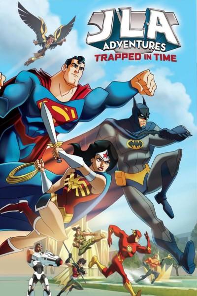 Caratula, cartel, poster o portada de JLA Adventures: Atrapados en el tiempo