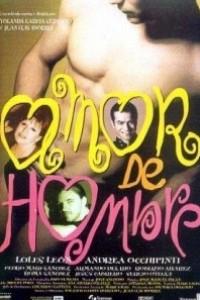 Caratula, cartel, poster o portada de Amor de hombre