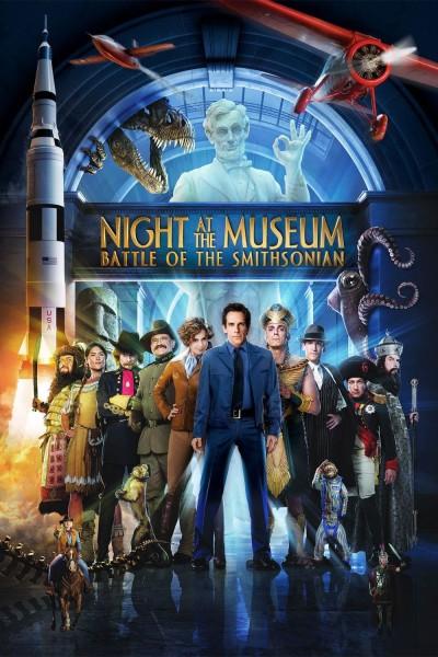 Caratula, cartel, poster o portada de Noche en el museo 2