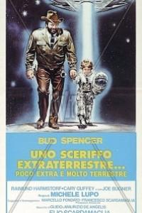 Caratula, cartel, poster o portada de El sheriff y el pequeño extraterrestre