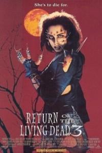 Caratula, cartel, poster o portada de El regreso de los muertos vivientes 3 (Mortal Zombie)