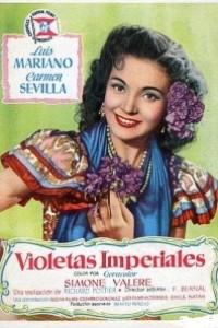 Caratula, cartel, poster o portada de Violetas imperiales