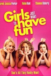 Caratula, cartel, poster o portada de Las chicas sólo piensan en divertirse