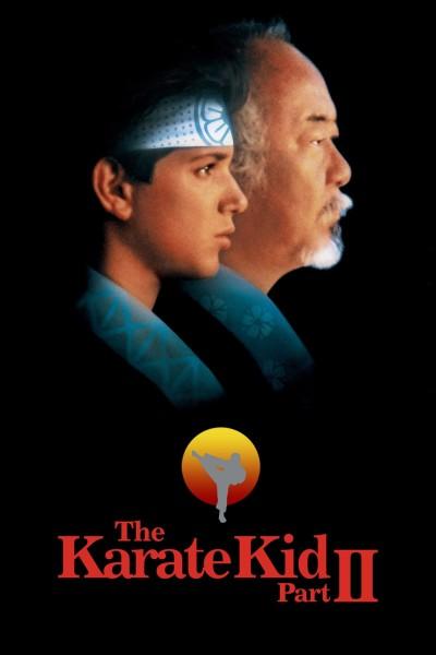 Caratula, cartel, poster o portada de Karate Kid II: la historia continúa
