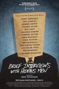 Caratula, cartel, poster o portada de Entrevistas breves con hombres repulsivos