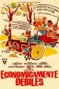 Caratula, cartel, poster o portada de Los económicamente débiles