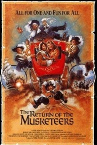 Caratula, cartel, poster o portada de El regreso de los mosqueteros
