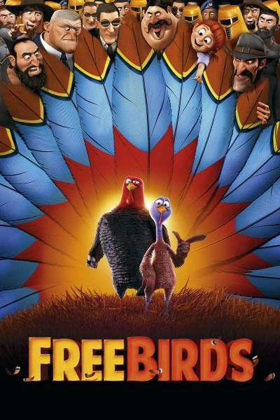 Caratula, cartel, poster o portada de Free Birds (Vaya pavos)