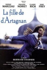 Caratula, cartel, poster o portada de La hija de D\'Artagnan
