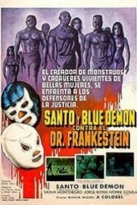 Caratula, cartel, poster o portada de Santo y Blue Demon contra el doctor Frankenstein