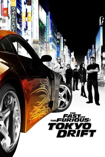 Caratula, cartel, poster o portada de A todo gas: Tokyo Race (A todo gas 3)