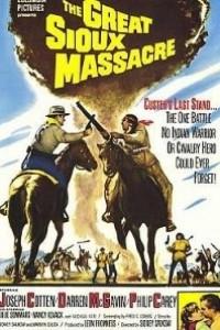 Caratula, cartel, poster o portada de La gran matanza Sioux