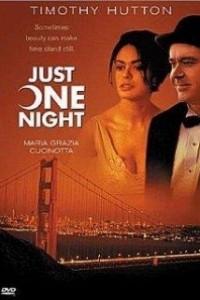 Caratula, cartel, poster o portada de Sólo una noche