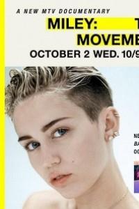 Caratula, cartel, poster o portada de Miley: The Movement