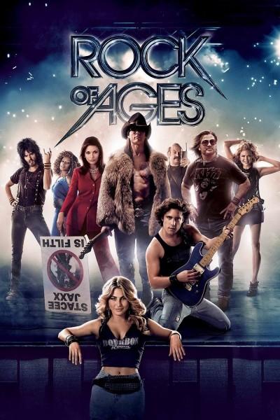 Caratula, cartel, poster o portada de La era del rock (Rock of Ages)