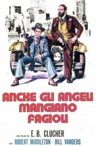 Caratula, cartel, poster o portada de También los ángeles comen judías