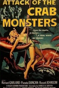 Caratula, cartel, poster o portada de El ataque de los cangrejos gigantes