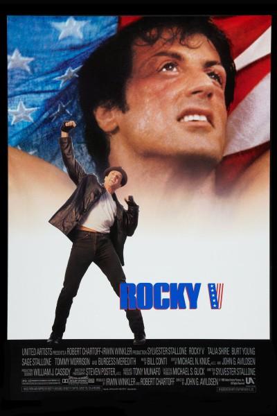Caratula, cartel, poster o portada de Rocky V
