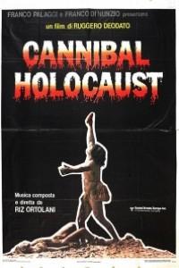 Caratula, cartel, poster o portada de Holocausto caníbal