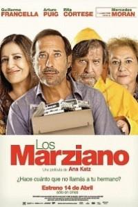 Caratula, cartel, poster o portada de Los Marziano