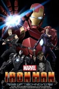 Caratula, cartel, poster o portada de Iron Man: La rebelión del technivoro