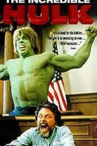 Caratula, cartel, poster o portada de El juicio del increíble Hulk