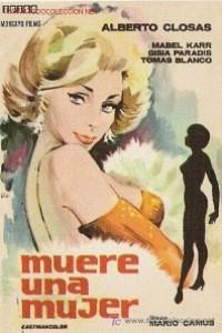 Caratula, cartel, poster o portada de Muere una mujer